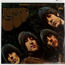 Beatles Rubber Soul  Sealed Stereo LP (Capitol 2442, 19