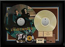 The Rembrandts L.P. RIAA Gold Record Award (EastWest Re