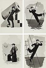 A Donald O'Connor Set of Personally-Owned Prints, Circa