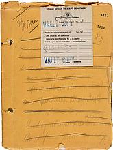 A Lon Chaney-Related Script from