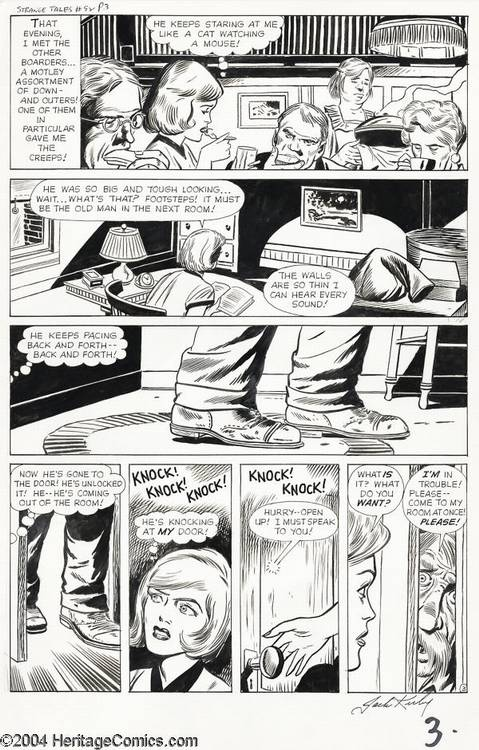 Jack Kirby and Dick Ayers - Strange Tales #92, page 3 Original Art (Marvel, 1962