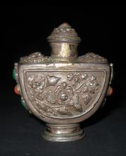 Chinese Sliver Snuff Bottle