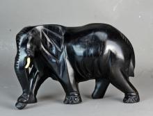 An Africa Ebony Elelphant Decoration