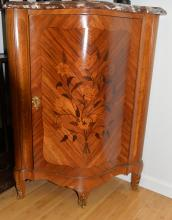 A Triangle Cabinet in Westen Style with Herringbone Matching
