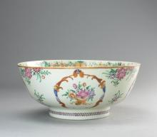 A Famille Rose Bowl from 18th Century