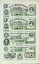 Four Notes of Bank of New England