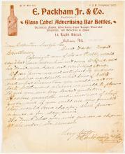 Bottle Label Manufacturer Letter