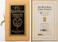 Black Prince Copper Company Prospectus