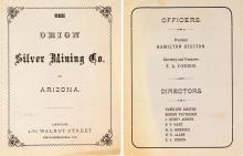 Orion Silver Mining Company Prospectus