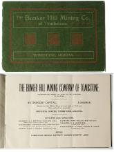 Bunker Hill Mining Company of Tombstone Prospectus