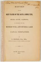 Report on the Deep Placers of the South & Middle Yuba, Nevada County, California (by Benjamin Silliman)