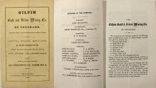 Prospectus for the Gilpin Gold & Silver Mining Co. of Colorado (Gilpin County)