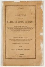 1838 Report of the Maryland Mining Co. (by Benjamin Silliman) (Coal)