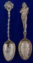 Two Native American Mining Spoons