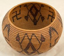Lillie James Washoe Basket