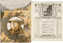 Original Sheet Music for Buffalo Bill and Pawnee Bill