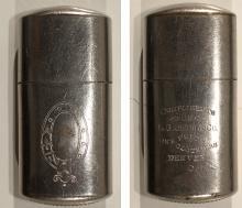 Silver Plated Match Safe (Denver, Colorado)