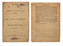 Report of Bishop Randall from Colorado Territory