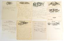Letterheads from Idaho Counties