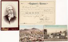 Four Virginia City and Tonopah, Nevada Items