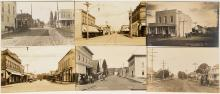Six Silverton, Oregon Real Photo Postcards