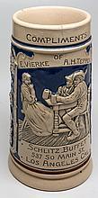 Schlitz Buffet Ceramic Beer Stein