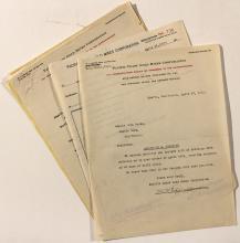 Pacific Coast Gold Mines Corporation Correspondence