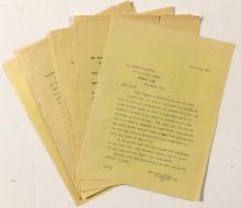 Duffield Gold Mine Correspondence