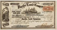 Pacific Land Company Stock Certificate