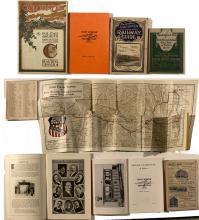 Four railroad books