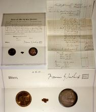 Virginia & Truckee Railroad Collectibles (Medallions, Ephemera, Gold Nugget)