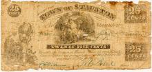Civil War-era 25 cent Note