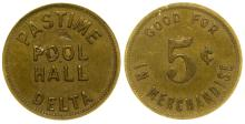 Pastime Pool Hall Token