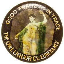 The Owl Liquor Co. Mirror
