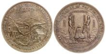1876 International Exposition Medal made from Nevada Ore