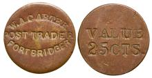 W. A. Carter Post Trader Token