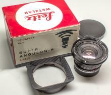 Leitz Wetzlar 21mm Super Angulon-R f 4