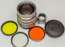 Leitz 5cm Rigid Summicron f 2 Lens