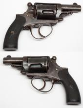 5 Shot Double-Action Antique Pocket Revolver