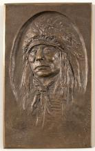 Bronze Casting of Native American Chief