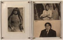 Three Native American Postcards