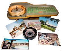Original Desert Inn Promotional Mini Roulette Table