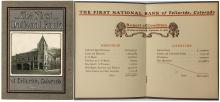 Report of Condition of the First National Bank