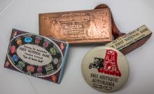 Three First National Bank Collectibles.