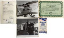 Eastern Air Lines Document Group, Eddie Rickenbacher T.L.S.