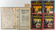 Clason's Touring Atlas / Leahy's 1933 Hotel Guide and Travel Atlas