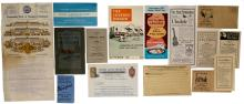 Miscellaneous Collectible Pamphlets & Brochures