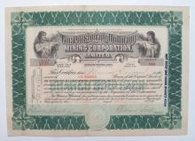 Pittsburgh Bullfrog Mining Company Limited stock certificate