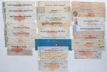Miscellaneous Mid-Western & Eastern RN Checks