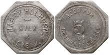 Harry Holborn Milk & Cream token